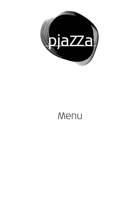 Pjazza menu 3/11