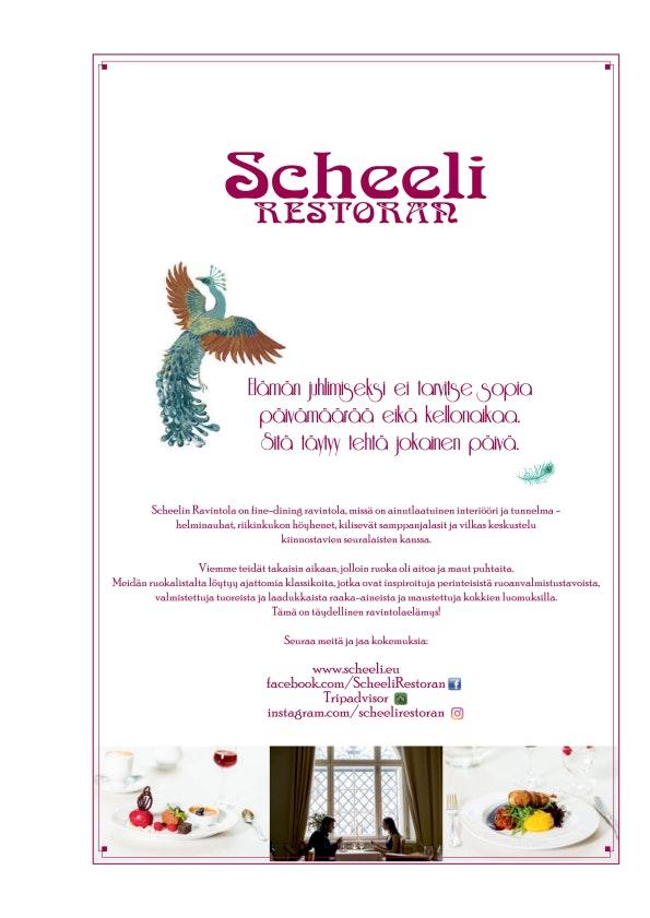 Scheeli menu 3/4