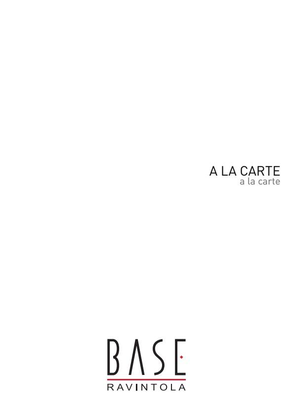Base menu 3/8