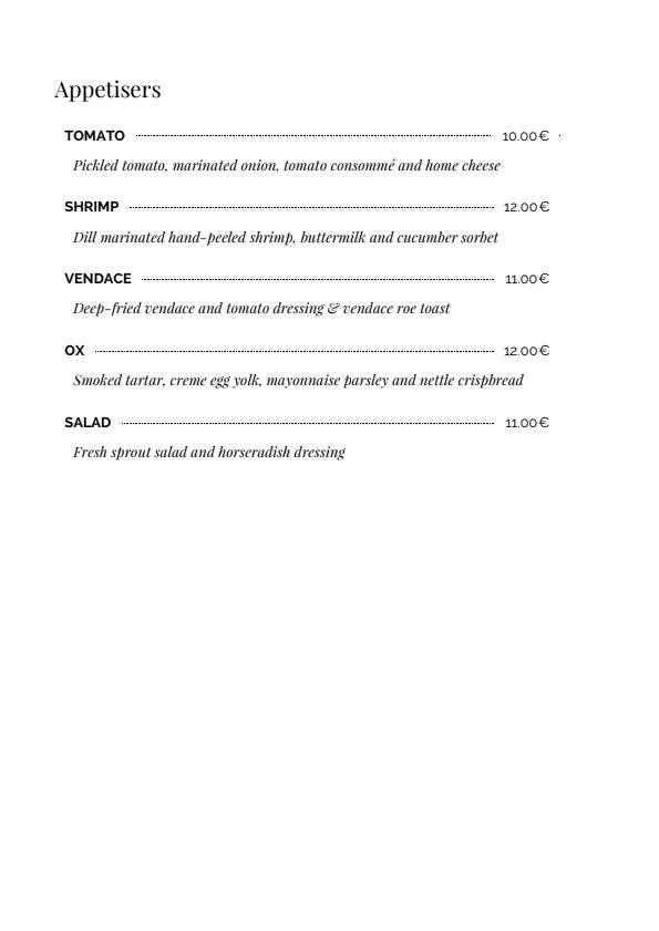 Bröd menu 1/6