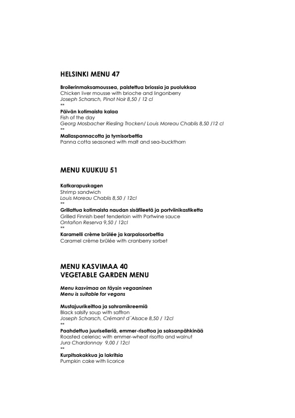 Kuukuu menu 2/5