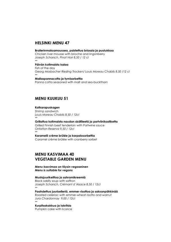 Kuukuu menu 2/4