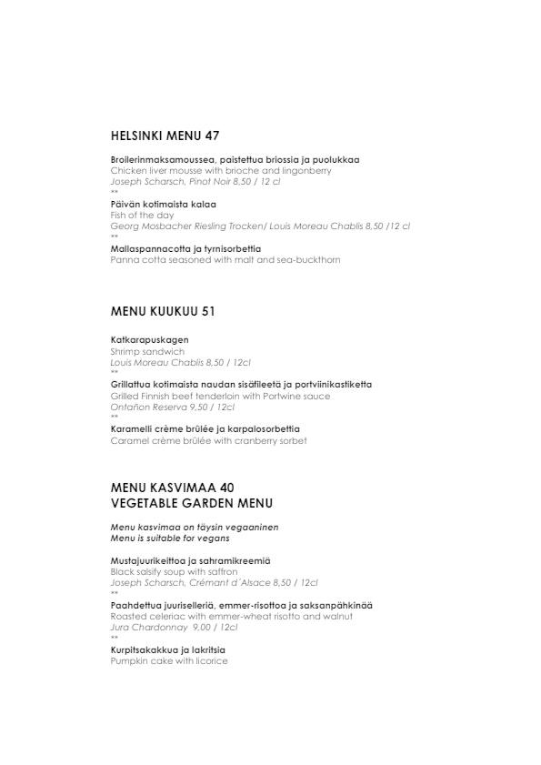 Kuukuu menu 4/5