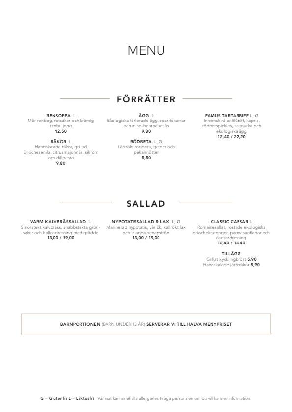 Famu menu 1/3