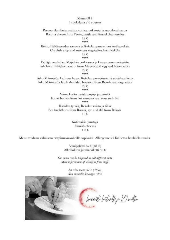 C menu 1/1