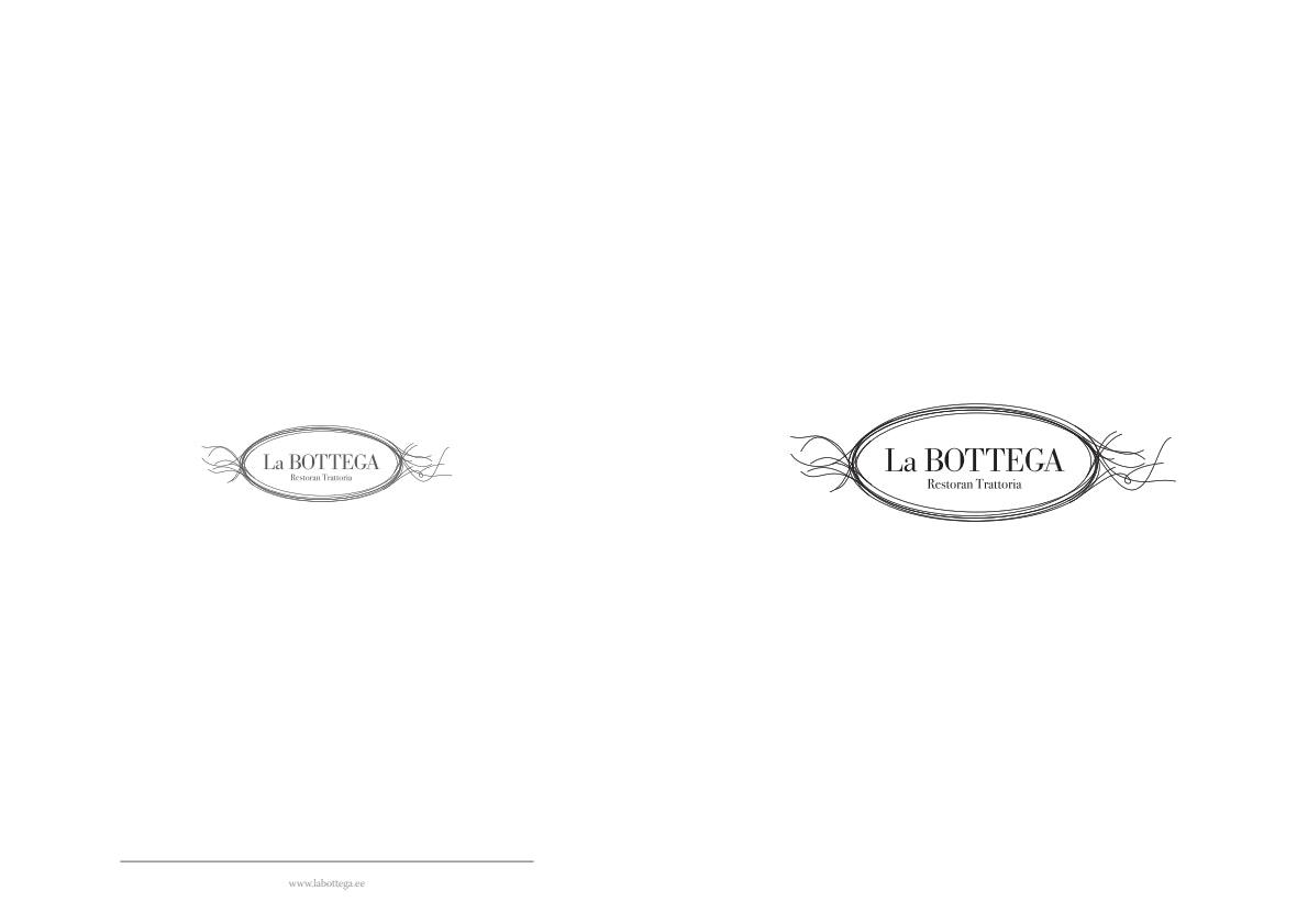 La Bottega menu 1/4