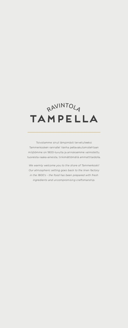 Tampella menu 4/4