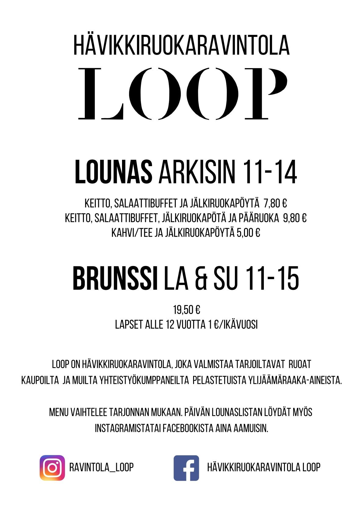 Loop menu 1/1