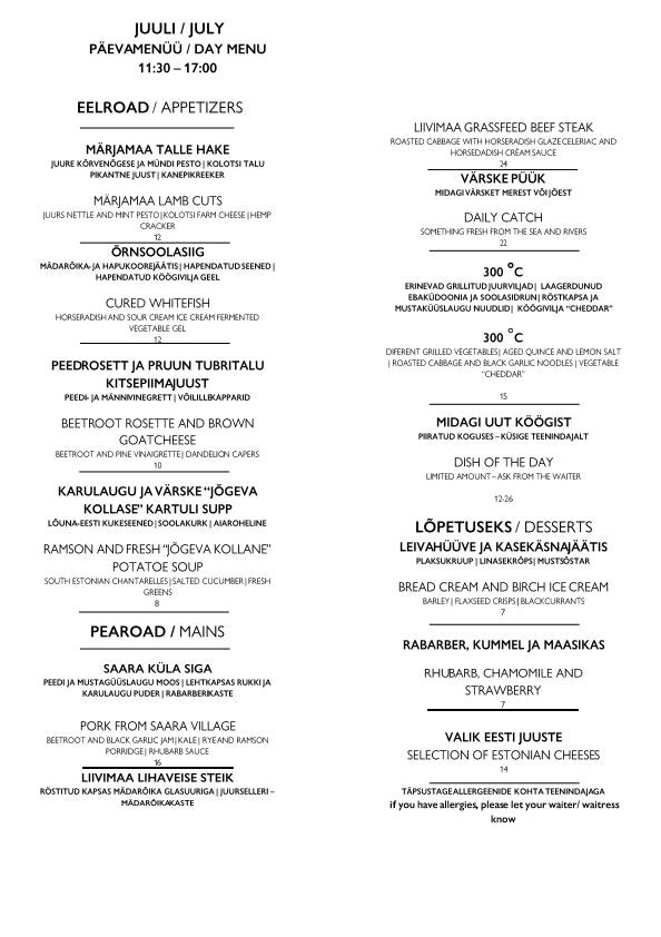 Juur menu 1/1