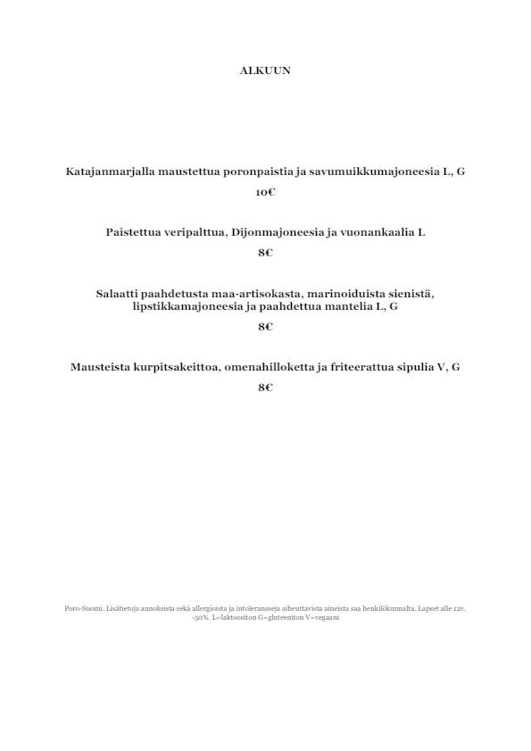 Perho menu 4/4