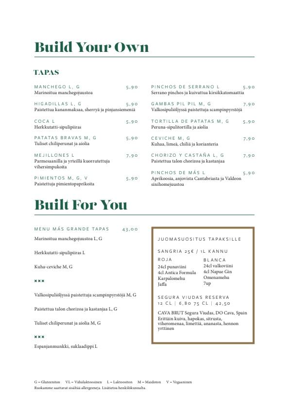 Más menu 4/4