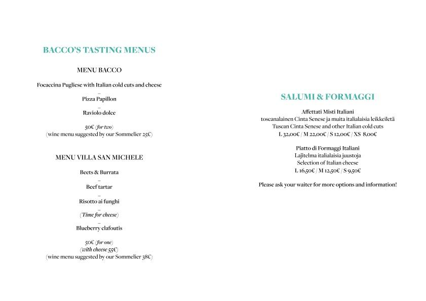 Bacco menu 3/6