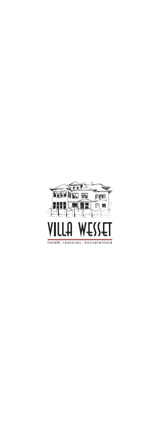 Villa Wesset menu 8/13