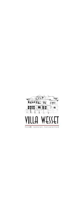 Villa Wesset menu 11/14