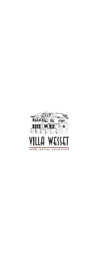 Villa Wesset menu 12/14