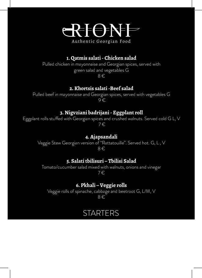 Rioni menu 2/5