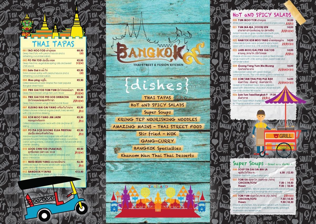 Bangkok 9 menu 2/2