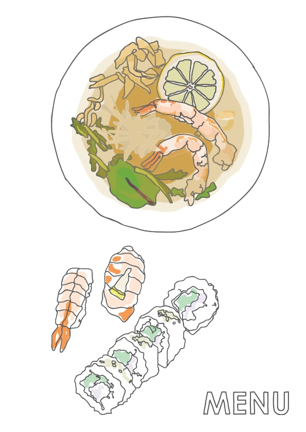 Tokumaru Solaris menu 1/10