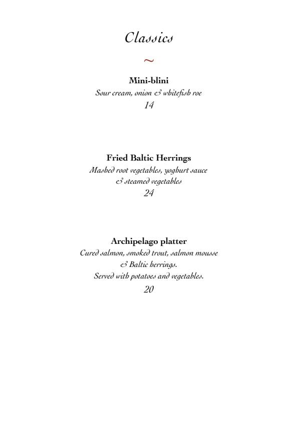 Ravintola Messenius menu 5/5