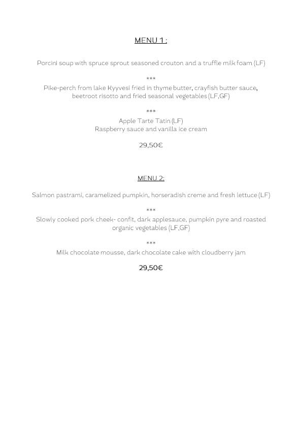 Asemaravintola Vaiha menu 4/4
