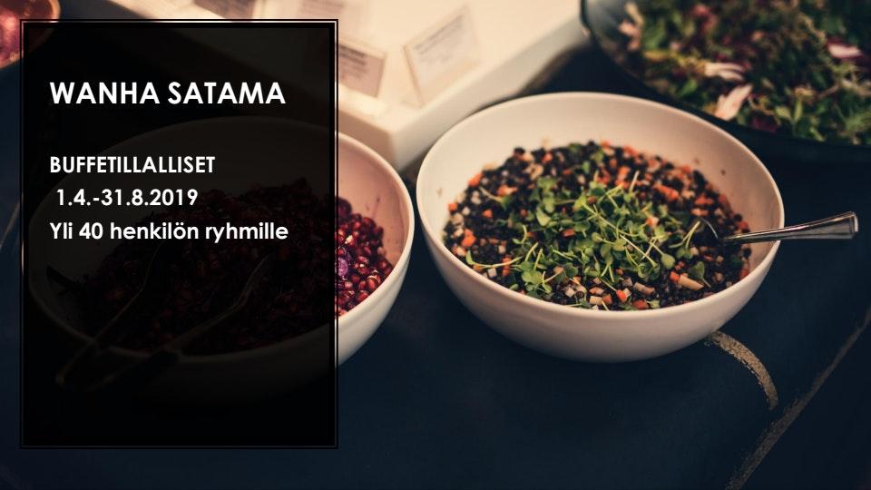 Wanha Satama menu 1/15