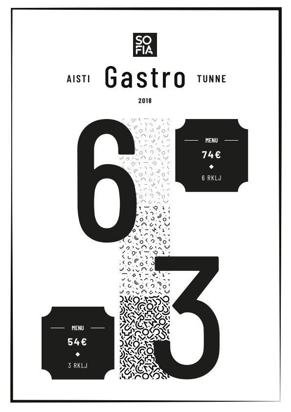 Sofia Gastro menu 1/1