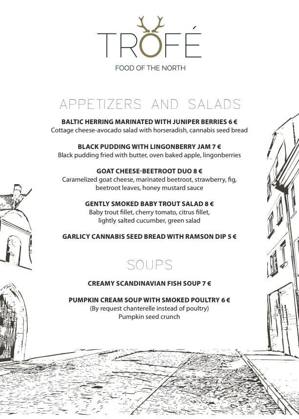 Trofé menu 2/2