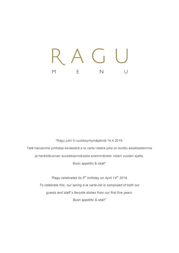 Ragu menu 2/4