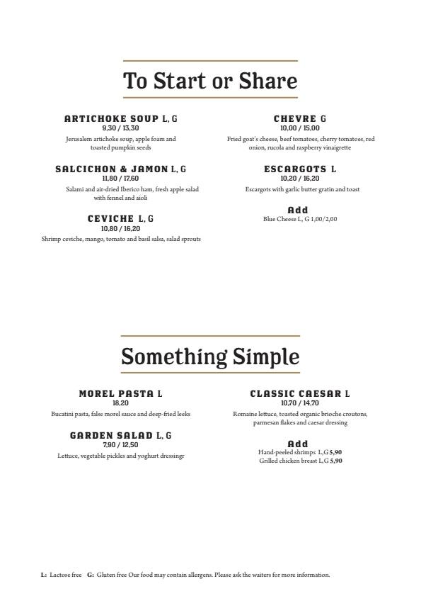 Ravintola Grillsson menu 2/3