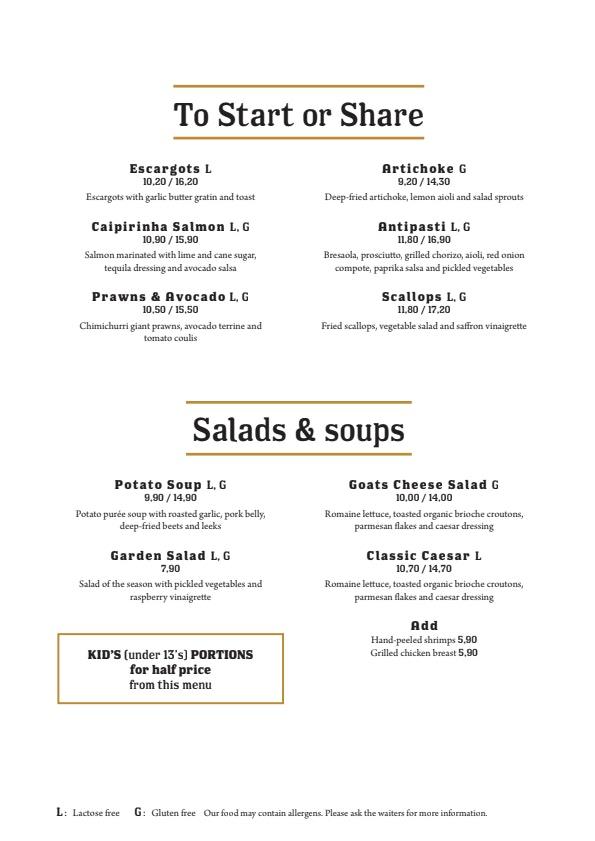 Ravintola Grillsson menu 3/3